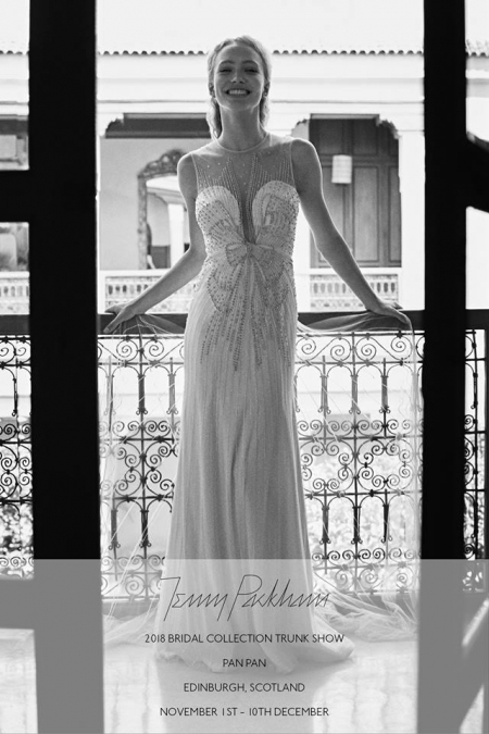 Jenny Packham trunk show – 2nd to 10th Dec 2017